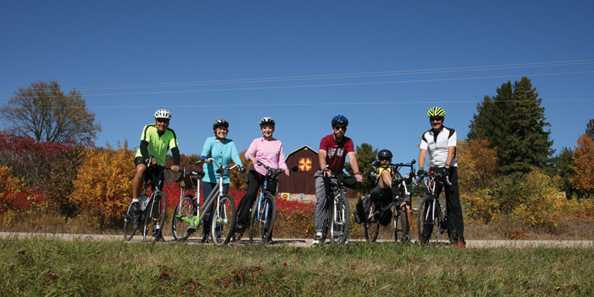 Enjoy this recreational bike ride for all ages!