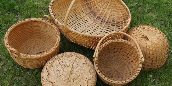 Learn Black Ash Basketry with Brian Evans