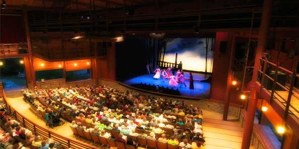 Enjoy a performance at America's Oldest Professional Resident Summer Theater!