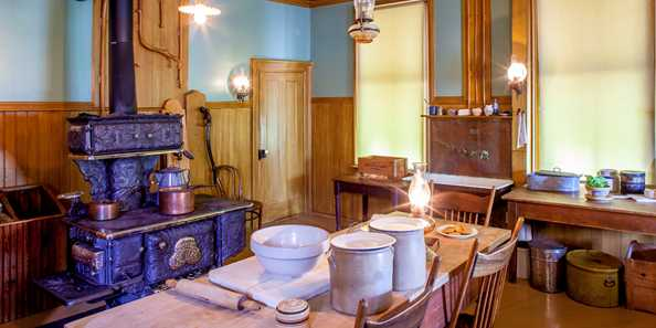 Breakfast in a Victorian Kitchen