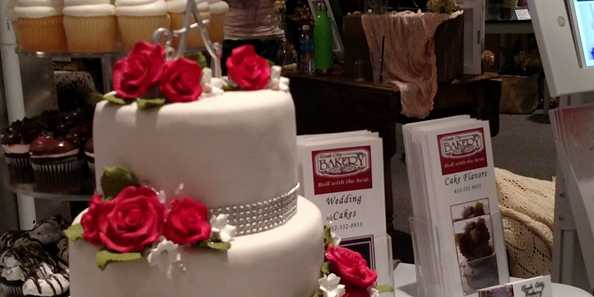 Wedding cakes are just one of the many wedding services highlighted.