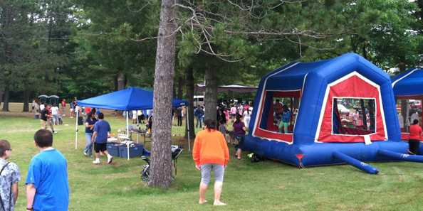 Bounce Houses for the Kids