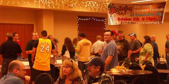Evansville hosts a popular craft beer festival for its Oktoberfest celebration. Included in admission is a souvenir glass and beer checklist, and unlimited appetizers and mini-desserts.