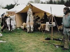 Image for Living History Rendezvous Reenactment at Reedsburg Pioneer Log Village