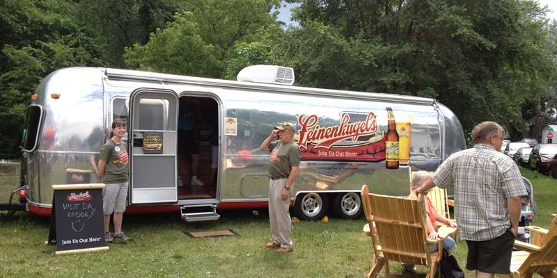 Leinie's trailer at Family Reunion