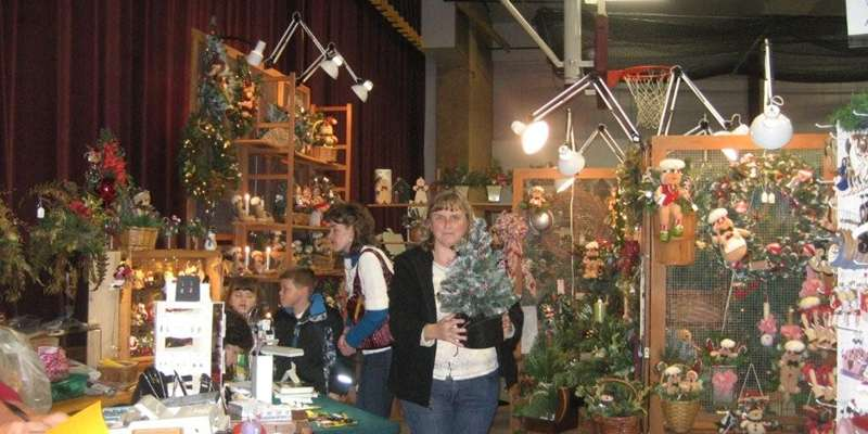 Start your holiday shopping and decorating at the popular Christmas Creations Craft Show