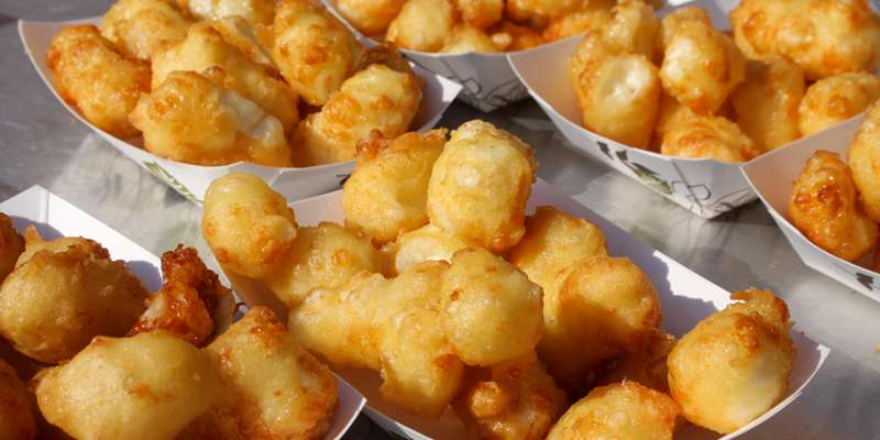 Everyone's favorite cheesy morsels. Fried cheese curds from the Cheese Curd Capital!