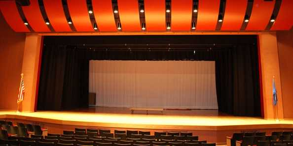 Edgerton Performing Arts Center Stage