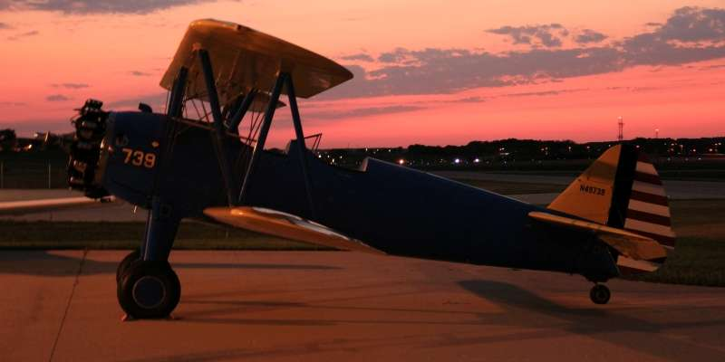 Wings Over Waukesha Sunset