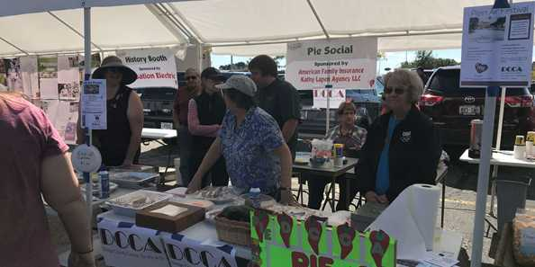Vendor Booths supporting the Beaver Dam Pepper Festival