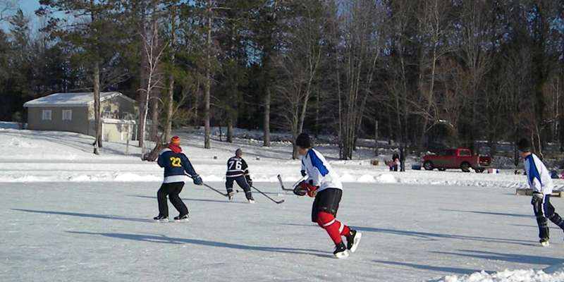 Pond Hockey Tournament