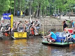 Image for Wolf River Raft Race