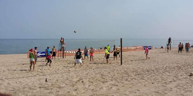 New in 2014 - beach volleyball!