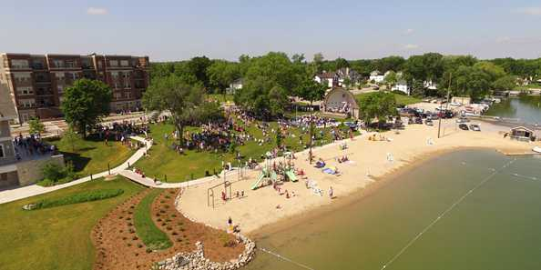The Lake Country Challenge will start and end in City Beach Park downtown Oconomowoc.