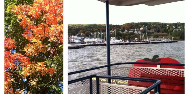 Catch a ferry to Fall Fest on Madeline Island