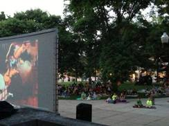 Image for Downtown Baraboo Outdoor Movies on the Square