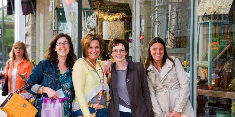 Shops will be open from 4-9pm on May 21, Ladies Night Out in Cedarburg.