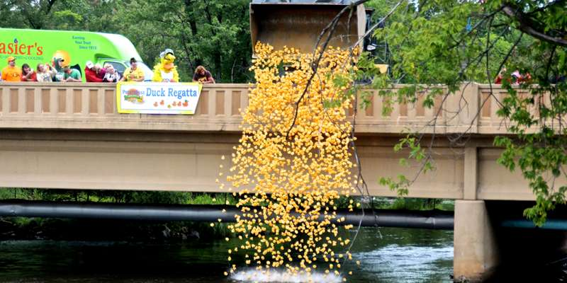 Duck Race and the winning duck owner gets $2,000.