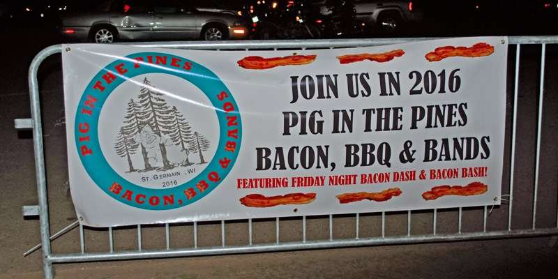 Pig in the Pines: Bacon, BBQ & Bands