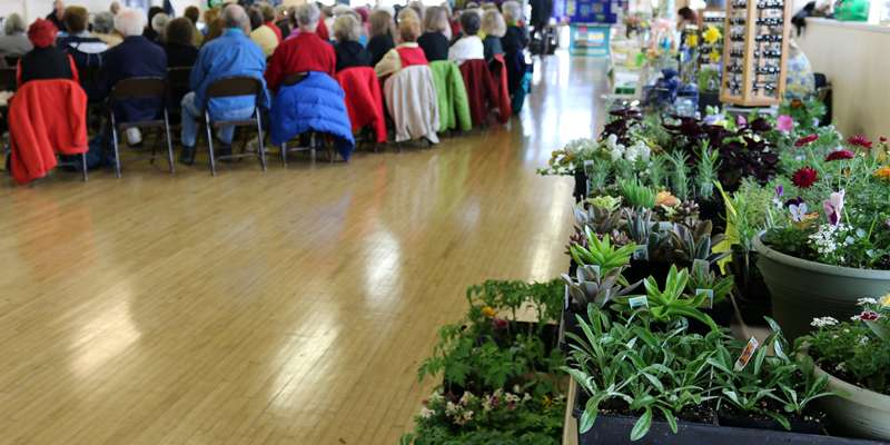 Garden Expo and live WPR broadcast