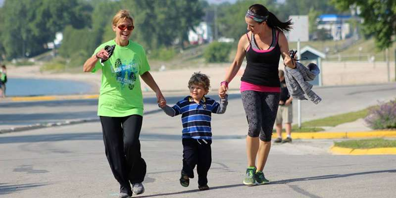 A 5K run/walk for the whole family!  Some of the route is along the Lake Michigan shoreline. Part of the Bellin Titletown series.