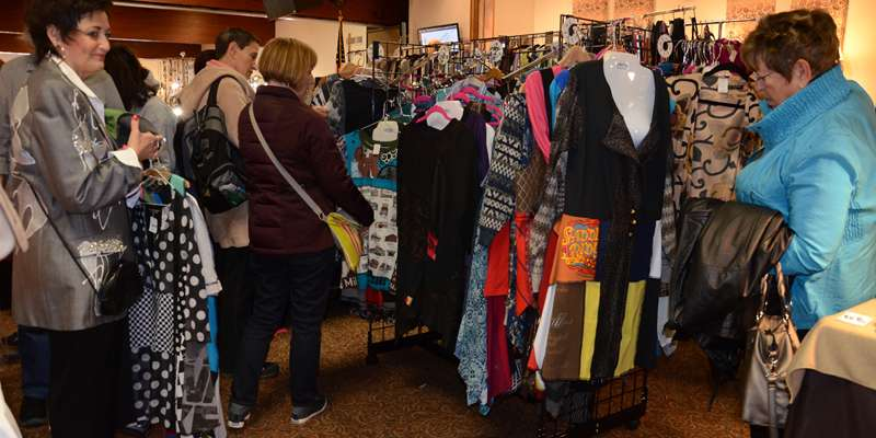 On the look out for unique clothing and accessory items? Be sure to attend this year's Wearable Art Show on March 28.