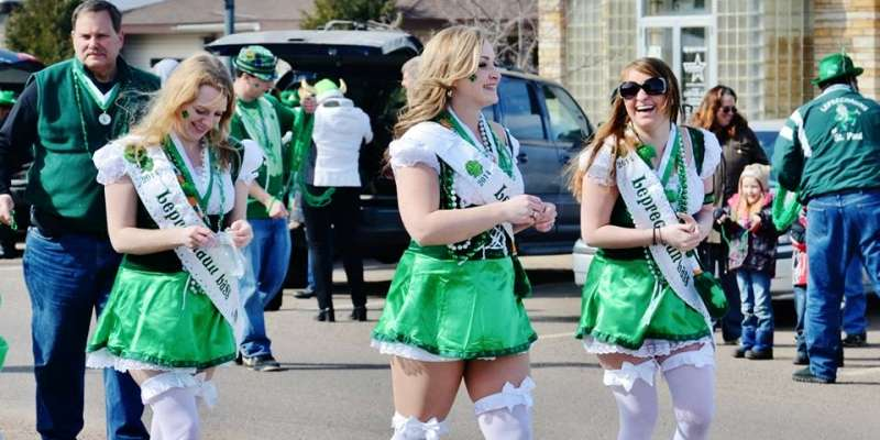 The St. Paul Winter Carnival Leprechauns brought their magic to the 2014 Siren St. Patrick's Day Parade.