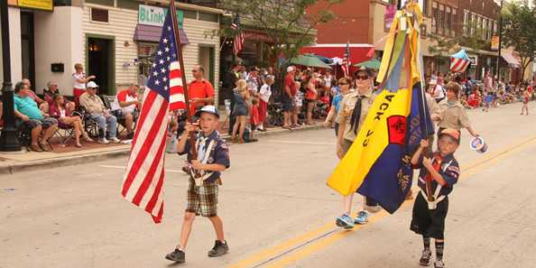 Oconomowoc's annual Fourth of July Parade is a great event for the family.