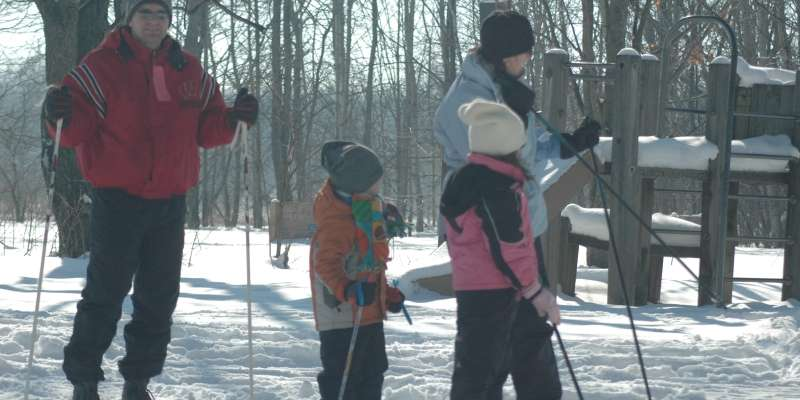A family that skis together stays together!