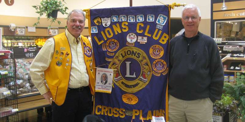 CP Lions Hand out Brouchures for Diabetes