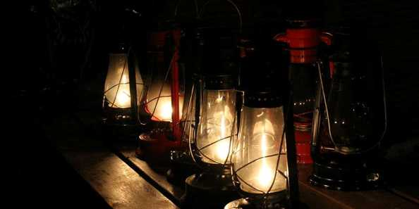 You will be led through our open-air homestead museum by your guide, who will have lanterns to lead the way.