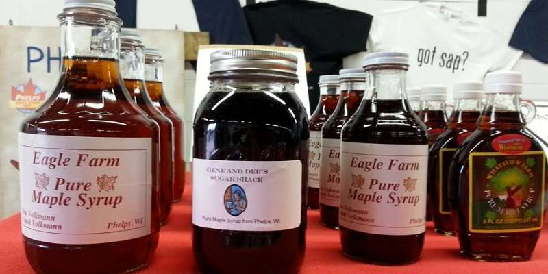 Shop locally made syrups, with a $1 from each syrup sale contributing to a scholarship fund.