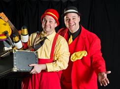 Image for Miller & Mike Circus Comedy Duo