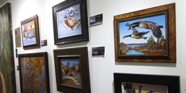 Craig Fairbert art display