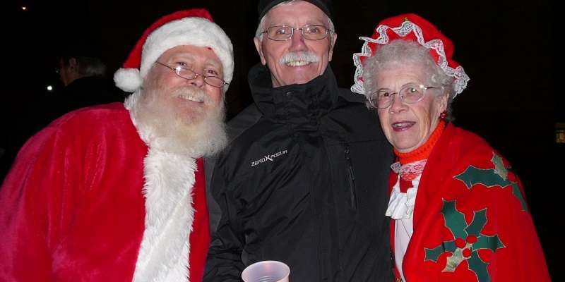 Christkindl and Father Christmas