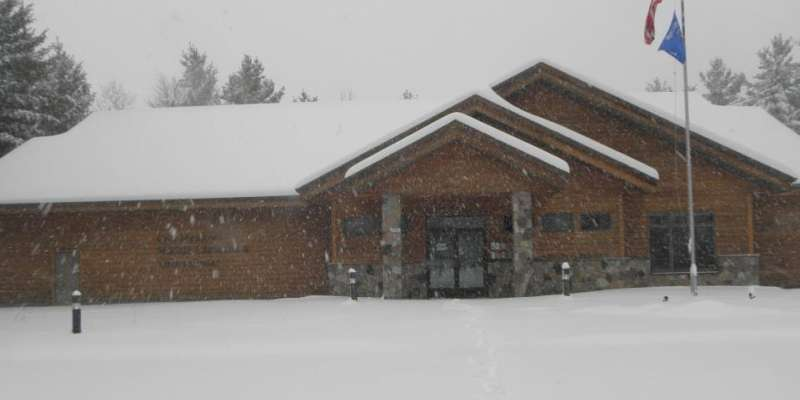 Crex Meadows Visitor Center - winter