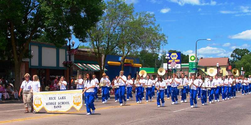 Marching Band at Parade