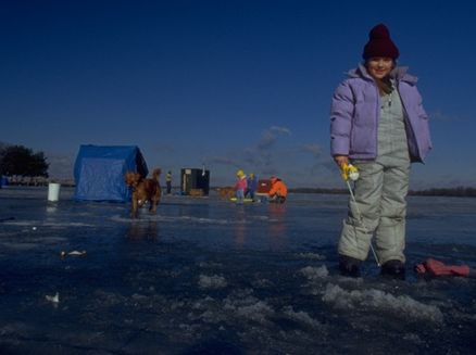 Image for Spooner-Trego Lions Club Ice Fishing Contest