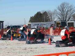 Image for Thorp Snow Raiders Snowmobile Drag Races
