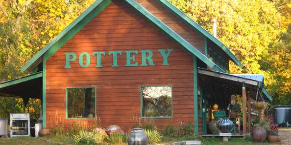 Wonderful pottery studios with guest artists to explore and experience.