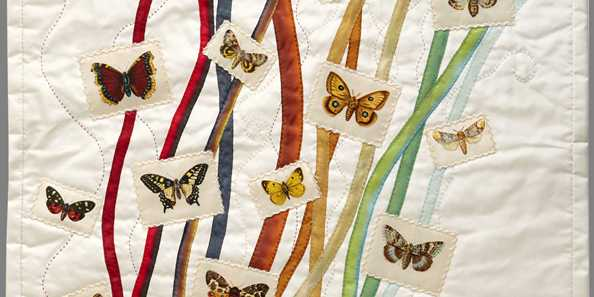 Greta Mikkelsen, Butterflies and Moths; LEA Tobacco Company silks, 1911–22. Courtesy of the artist.