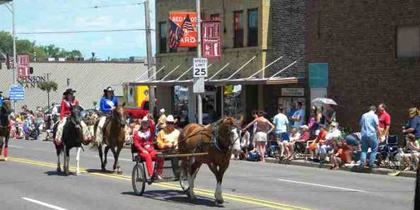 Rodeo Parade-Saturday at 1:30 p.m.