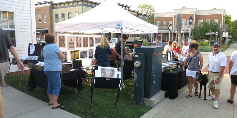 Fall Art Walk in Downtown Delafield
