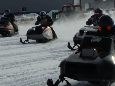 Image for Curtiss Snowmobile Drag Races