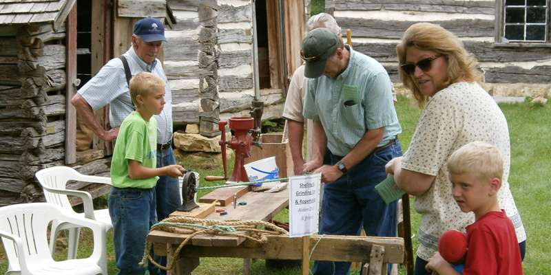 Come and watch on of our pioneer craft demonstrators! Broom making, blacksmithing,rosemaling, and woodcarving are just some of the craftsmen who will be displaying their talent for visitors to watch.