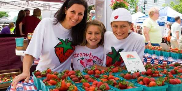 People of all ages absolutely love strawberries.