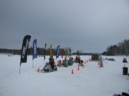 Image for Cor PowerSports Cross Country Snowmobile Race