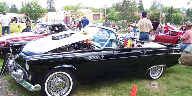 Northwoods classic car show