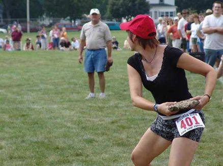 Image for Wisconsin State Cow Chip Throw