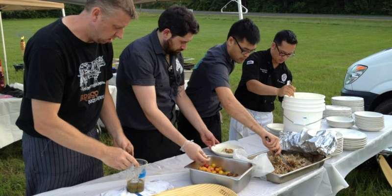 4 Chefs, 1 Pig and a Farmer 2013